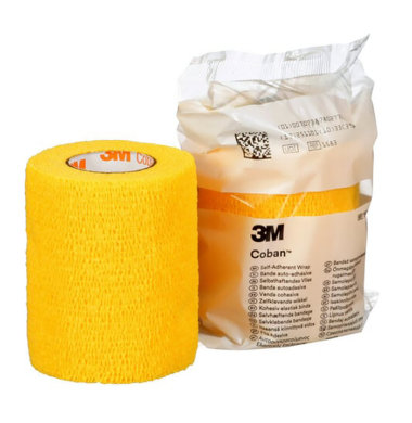 3M Coban Yellow 3 x 5 -1538Y