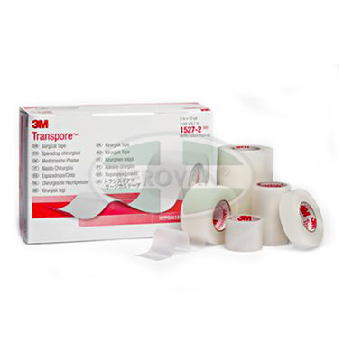 3M Transpore Tape 3 x 10 Y -1527-3
