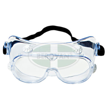 3M Goggle Chemical Splash 334AF