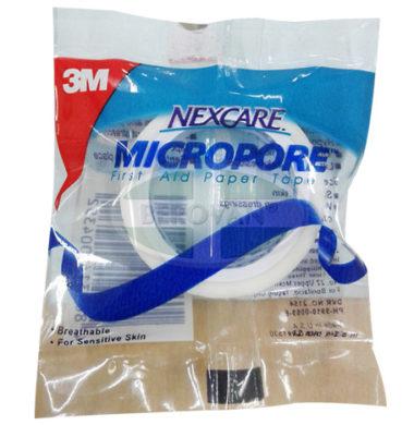 3M Micropore Plastr 1/2×2.5m