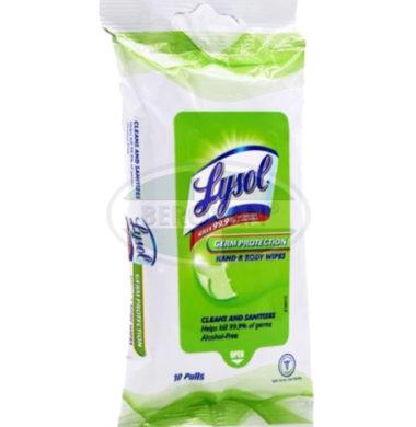 Lysol Germ PH Wipes Orig 1 X 10's