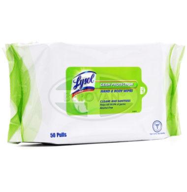 Lysol Germ PH Wipes Orig 1 X 50'S
