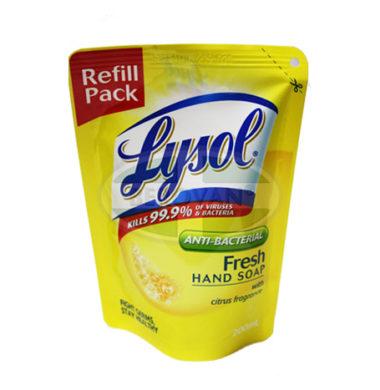 Lysol Ph Liq Handwash Fresh 200ml (POUCH)