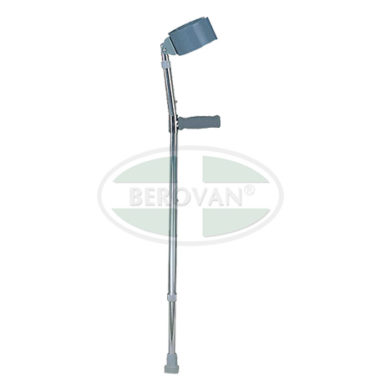 MS Crutches Forearm Chrome FS933L