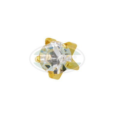 MS Ear Stud-Zirconia Studex M100Y