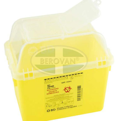 BD Sharps Collector, 7.6L Yellow (5460zkp)