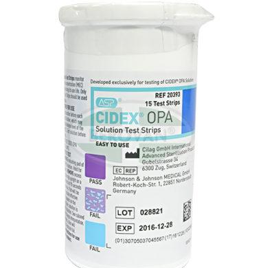 Cidex OPA Test Strips 15'S