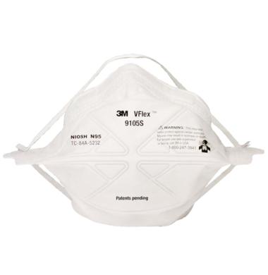 3M Mask N95 Respiratory Avanti Pedia 9105S