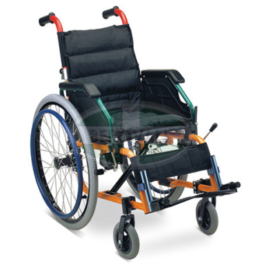 MS Wheelchair For Kid (Folding Handle W/ Seat Pad) FS980LA35