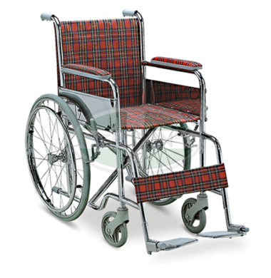 MS Wheelchair For Kid W/ Solid Tire FS802-35