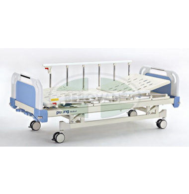 MS Bed-Manual 3 Cranks W/ 4 IV Holes & Patient Name Hior A-5