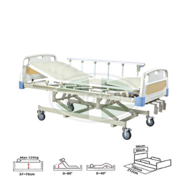 MS Bed-Manual W/ Body & Metal Board FS3031WG