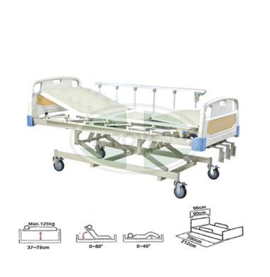MS Bed-Manual W/ Body & Metal Board FS3031WG