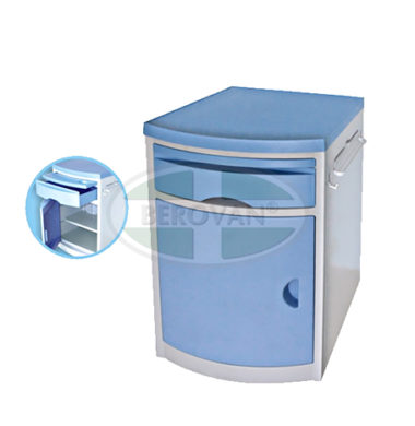 MS Bedside Table Imported Blue Plastic FS578B