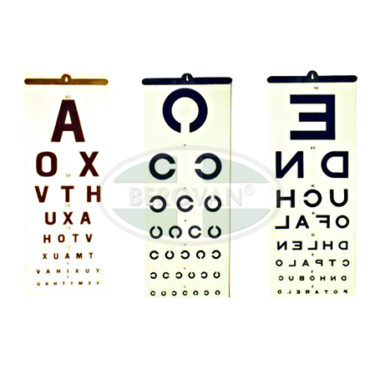 MS Chart – Eye (Illiterate)