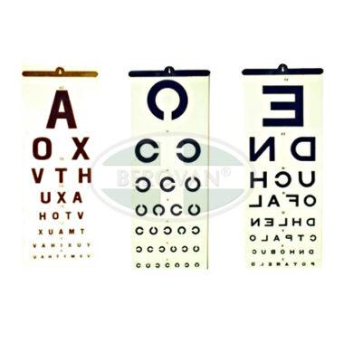 MS Chart – Eye (Illiterate)