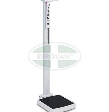 MS Scale-Physician Digital W/ Mech H Rod Detecto Solo