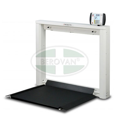 MS Scale Wheelchair Digital Wall Mount Detecto 7550