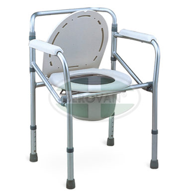 MS Commode Chair Aluminum FS894L