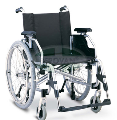 MS Wheelchair Lightwt Ord Blue 959L-46