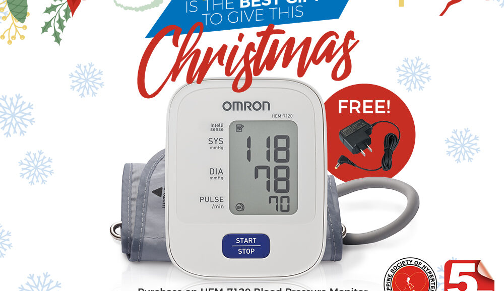 Omron BPM HEM-7120 with Adaptor Promo Bundle