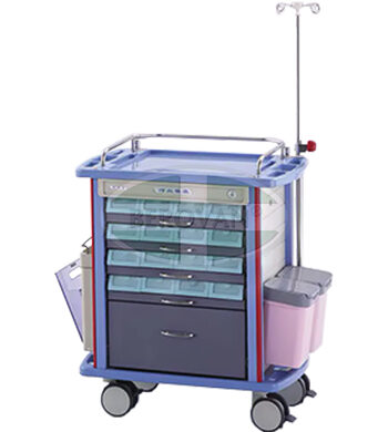 MS Medicine Trolley F45-2II
