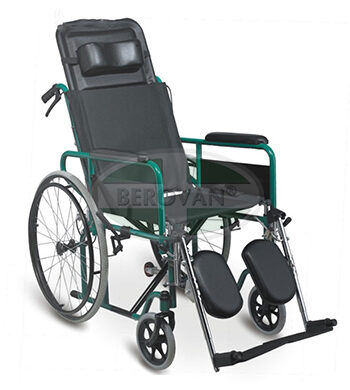 MS WHEELCHAIR ADJ BACK  RECLINING 954GC46